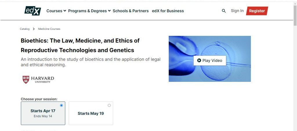 The Law, Medicine, and Ethics of Reproductive Technologies and Genetics