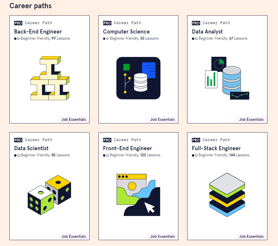 Career Paths in Codecademy