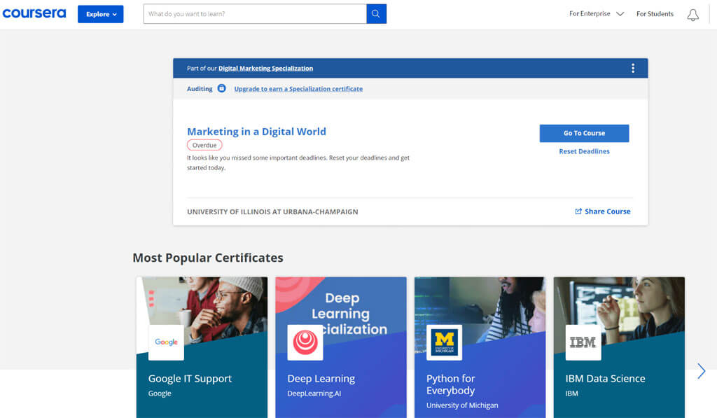 coursera overview