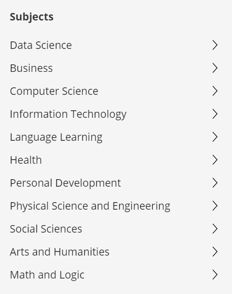 Coursera's courses are the better fit for you if you're a professional
