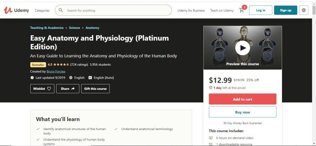 Easy Anatomy and physiology