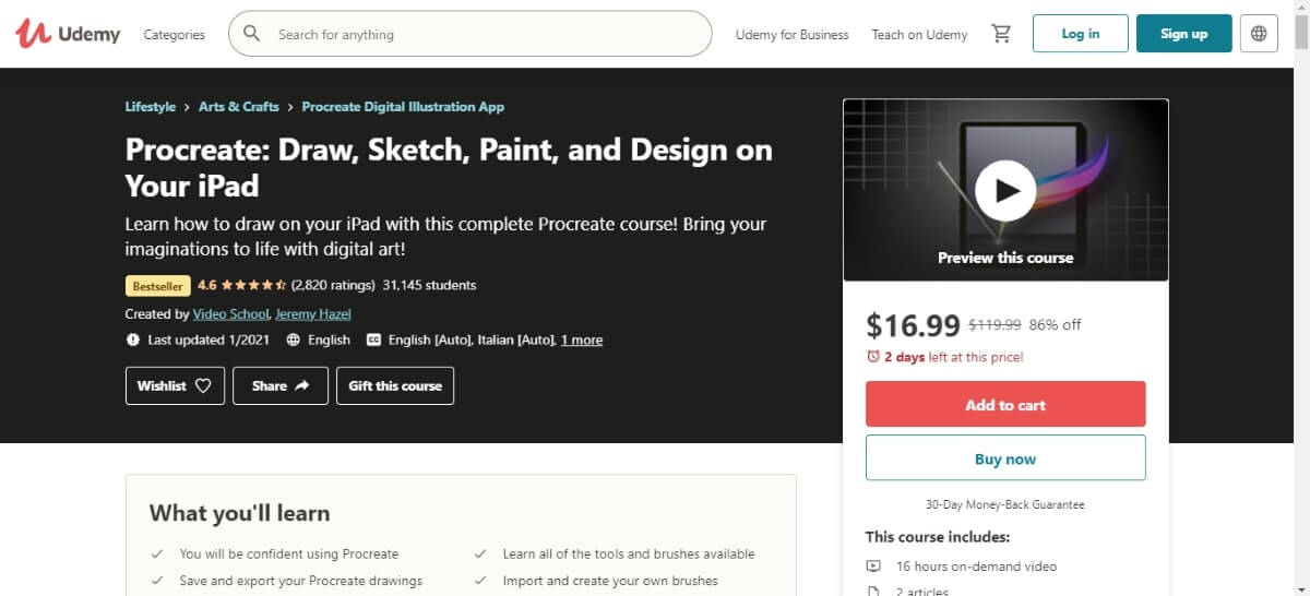 procreate draw sketch paints and design on your ipad