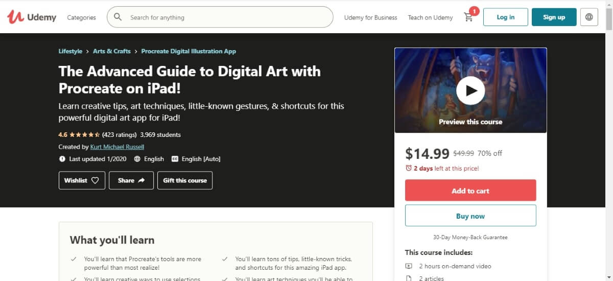 the advanced guide to digital art with procreate on ipad
